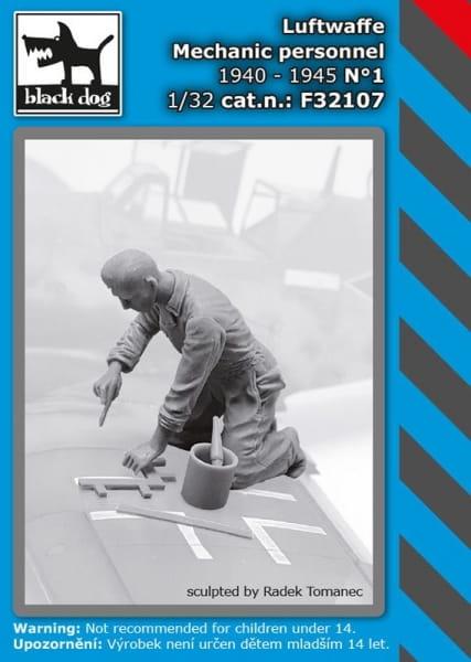 Luftwaffe mechanic personnel 1940-45 N°1 / 1:32