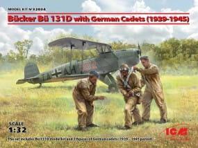 Bücker Bü 131D with German Cadets (1939-1945) / 1:32