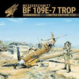 Messerschmitt Bf 109E-7 Trop - Limited Edition / 1:32