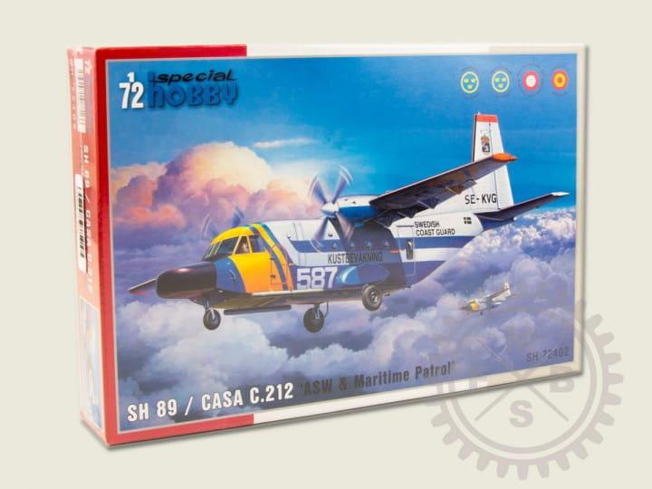 Special Hobby SH 89 / CASA C.212 'ASW & Maritime Patrol / 1:72
