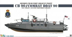 Sweden CB-90 FDST Assault Craft CB 90 - Combat Boat 90 / 1:35