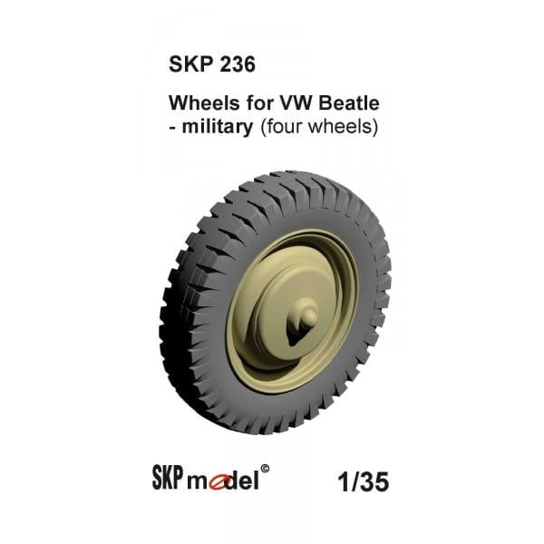 wheels for vw beetle k fer milit rvariante 1 35 skp. Black Bedroom Furniture Sets. Home Design Ideas