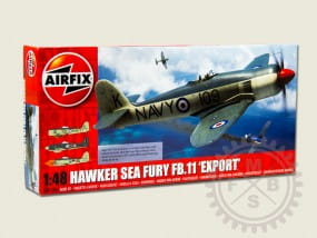 "Hawker Sea Fury FB.11 ""Export Edition"" / 1:48"