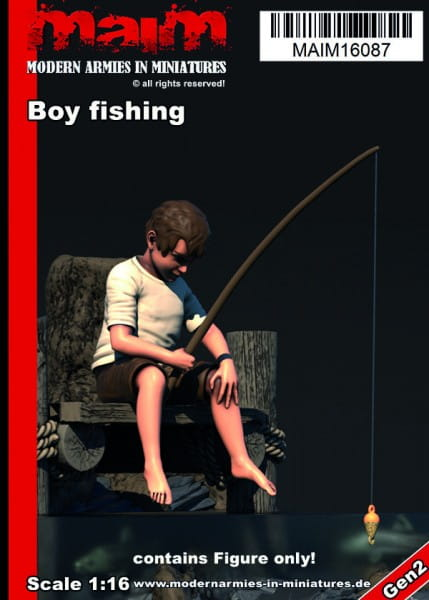 MAiM / Front46 Boy fishing / 1:16