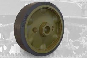US light tank M5A1/M8 HMC stamped roadwheels set B / 1:35