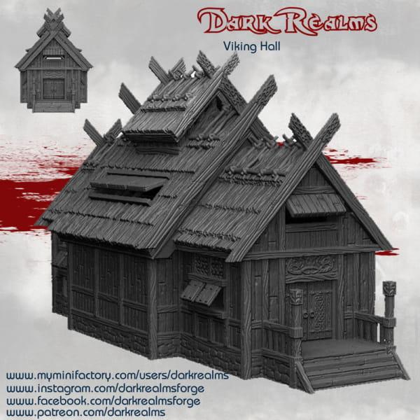 Medieval Scenery - Viking Hall