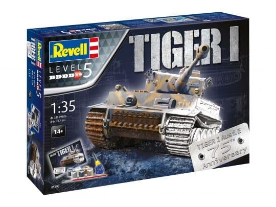 Geschenkset 75 Jahre Tiger I / 1:35