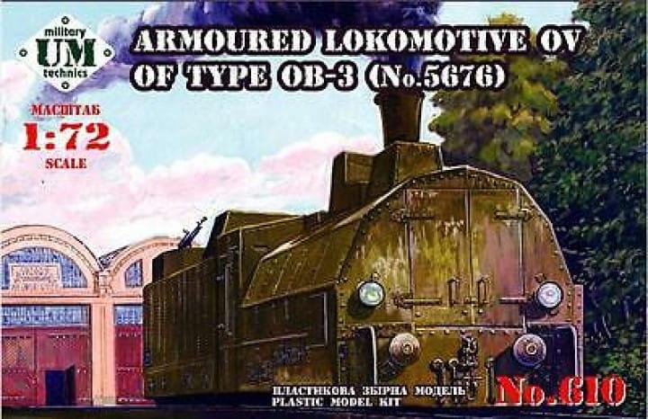 Armored locomotive OV of type OB-3 / 1:72