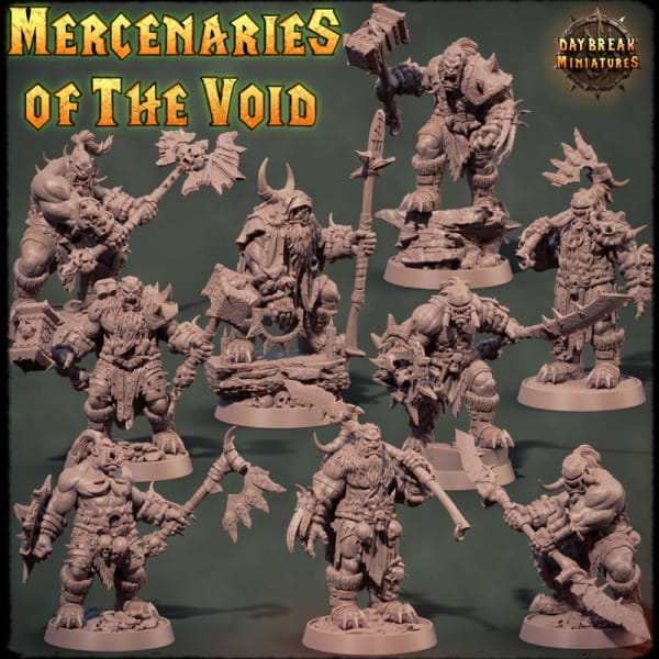 Orc´s - Mercenary of the Void Collector Pack