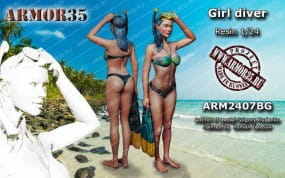 Girl Diver / 1:24