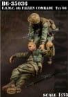 USMC(8)  Fallen Comrade Tet 1968 / 1:35