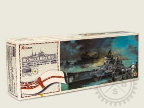 HMS Prince of Wales 1941 -Full Hull- / 1:700