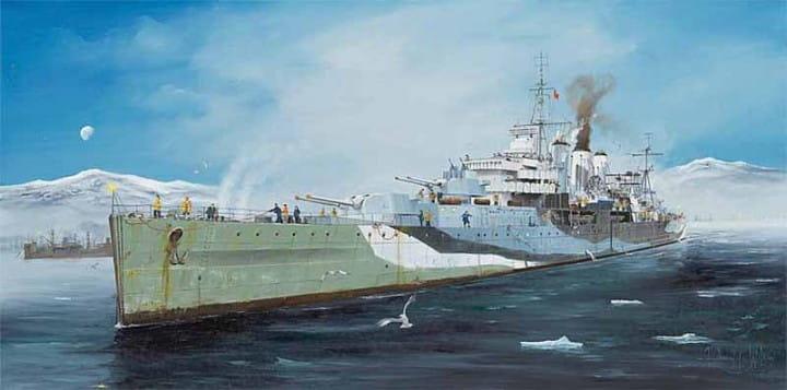 HMS Kent / 1:350