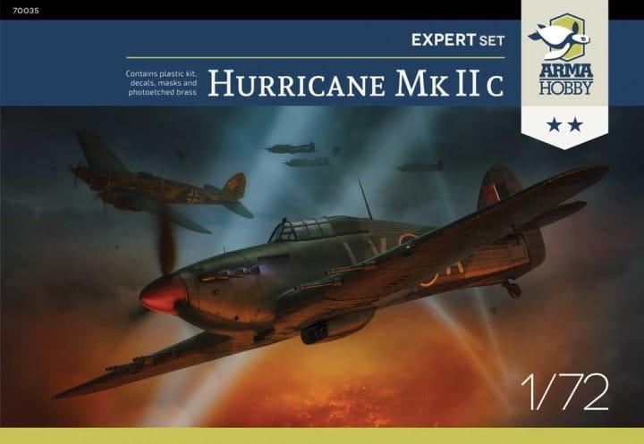 Hurricane Mk IIc Expert Set / 1:72