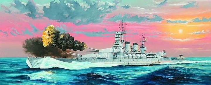 Italian Navy Battleship RN Littorio 1941 / 1:350