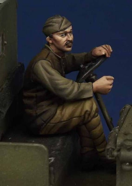 The Body US Army driver WW I (for ICM Model T) / 1:35
