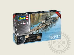Tirpitz (Premium Edition) - LIMITED EDITION / 1:350