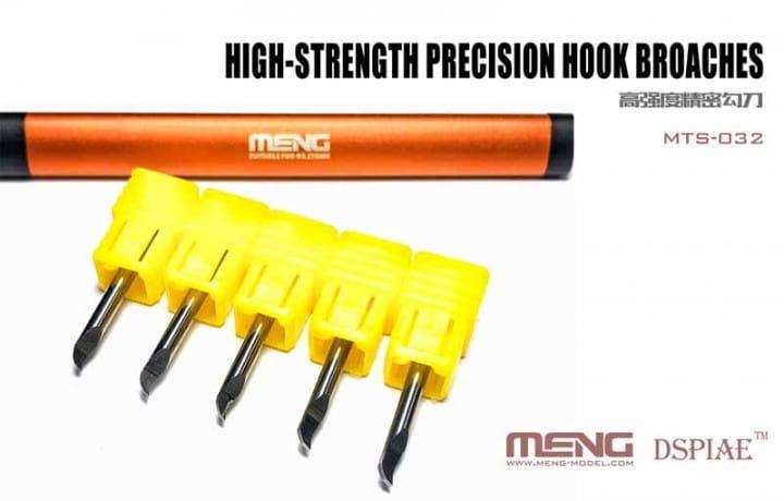 Meng Models High-strength Precision Hook Broaches