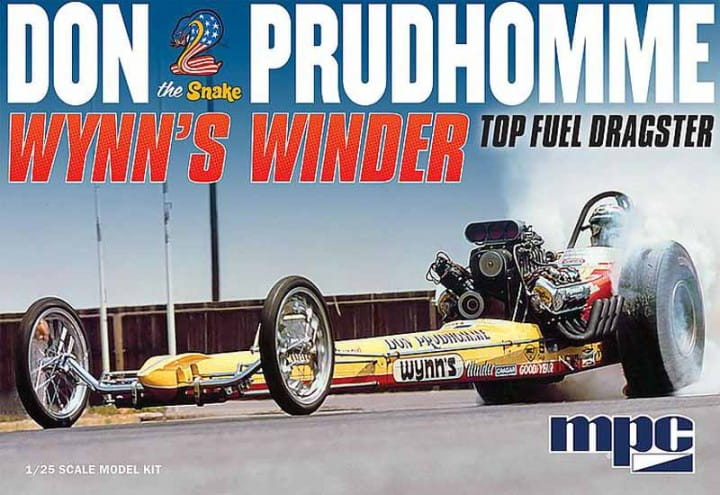 Don Snake Prudhomme Wynn's Winder Dragster / 1:25