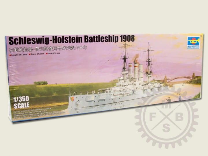 Trumpeter Schleswig-Holstein Batteship 1908 / 1:350