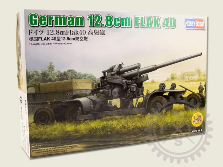 German 12.8cm FLAK 40 / 1:35