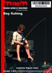 Boy fishing / 1:24