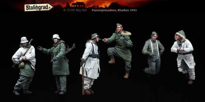Big Set: Panzergrenadiere, Kharkov 1943 / 1:35