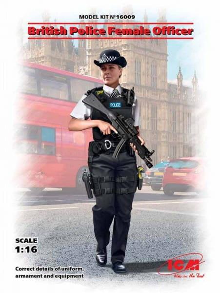 British Police Female Officer / 1:16