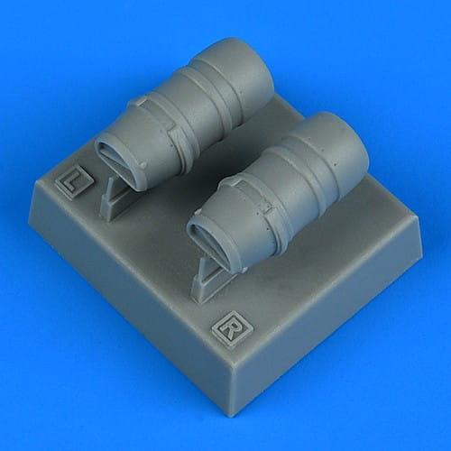 Quickboost Macchi Mc.205 Veltro oil radiators - Hasegawa - / 1:48