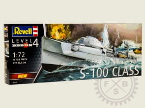 German Fast Attack Craft S-100 / 1:72