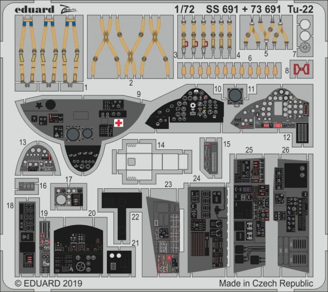 Tu-22 - Trumpeter - / 1:72