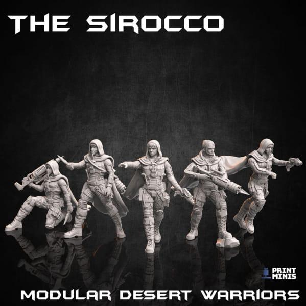 Scirocco Desert Warriors (Multi Kitbash Set) -Dieselpunk-