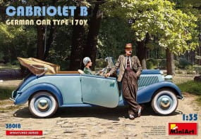 Cabriolet B German Car Type 170V / 1:35