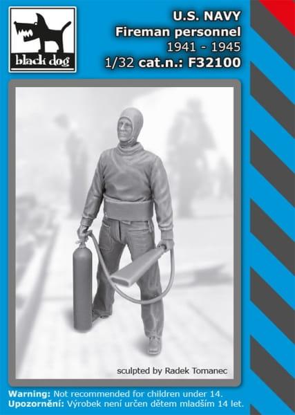 US NAVY fireman personel 1941-45 / 1:32