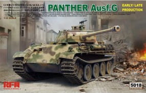 Panther Ausf. G; early/late Production / 1:35