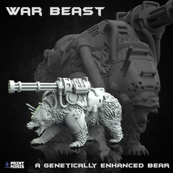 War Beast - Disel Bear