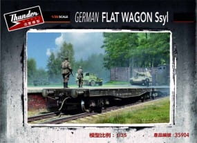 German Flat Wagon Ssyl / 1:35