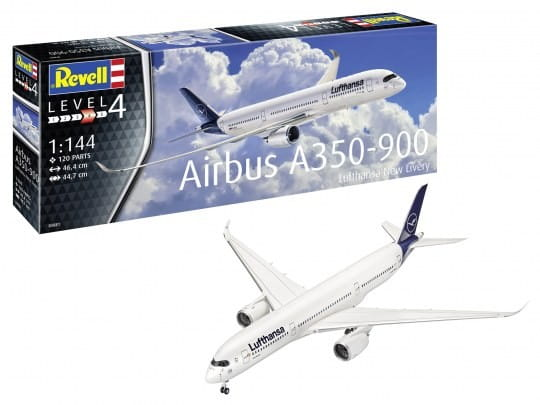 Revell Airbus A350-900 Lufthansa New Livery / 1:144