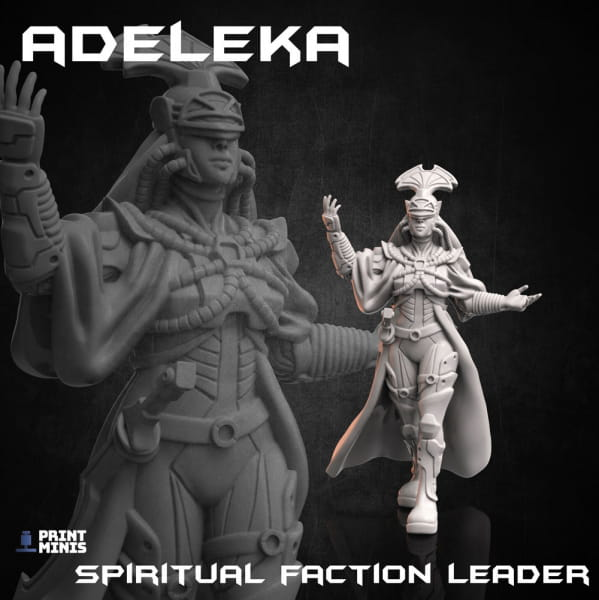 Adeleka - Religious Leader - Dieselpunk Desert Collection