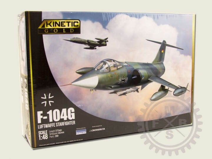 F-104G Germany Air Force and Marine / 1:48