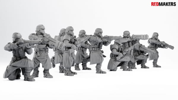 Death squad of the Imperial forces; Extreme Set #1 (62 Figures)