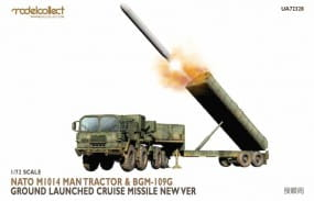 Nato M1014 MAN Tractor & BGM-109G Ground Launched Cruise Missile new Ver. / 1:72