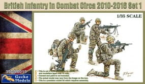 British Infantry in Combat 2010-12 Set 1 / 1:35