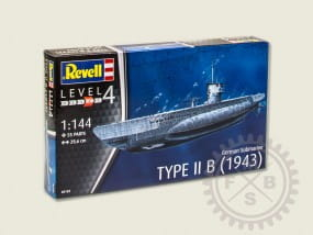 German Submarine Type II B / 1:144