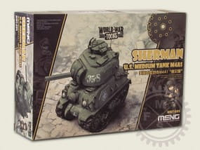 World War Toons: U.S.Medium Tank M4A1 Sherman