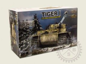 German Tiger I Early Production Wittmann's Tiger No. 504 / 1:35