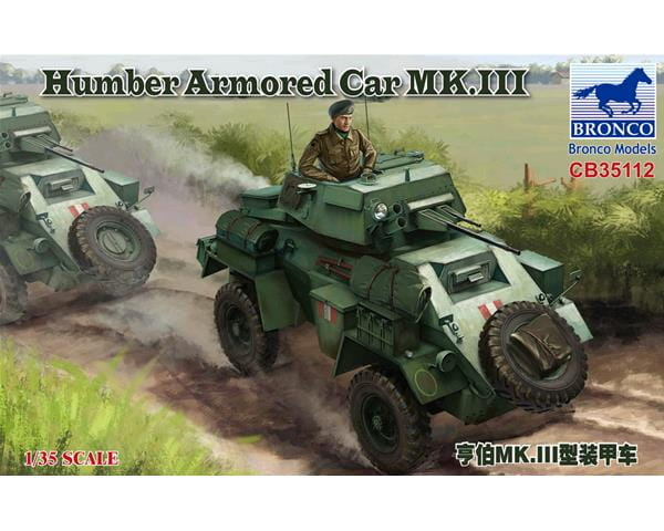 Bildergebnis für 1:35 Bronco Models CB35112 Humber Armoured Car MK.III