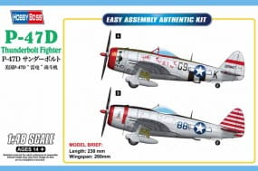 P-47D Thunderbolt Fighter / 1:48