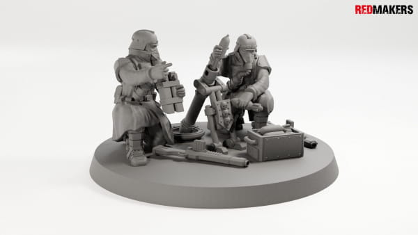 Mortar - Death squad of Imperial force Heavy support