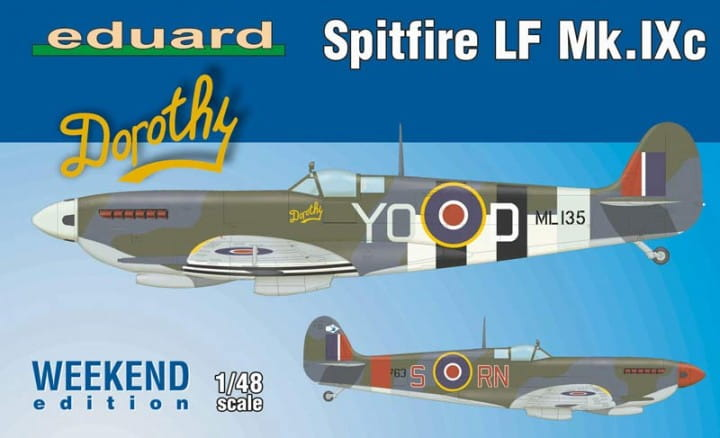 Spitfire LF Mk. IXc - Weekend Edition / 1:48